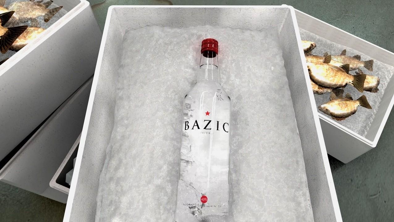 bazic 1 - Bazic Vodka