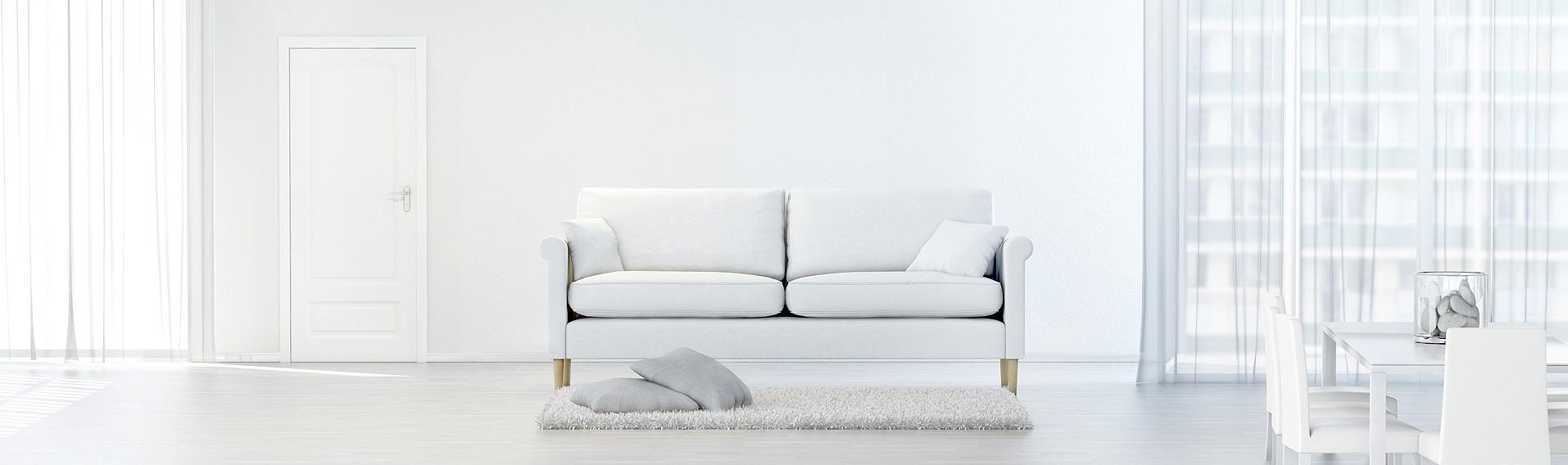 Sofa freigestellt - Innenarchitektur